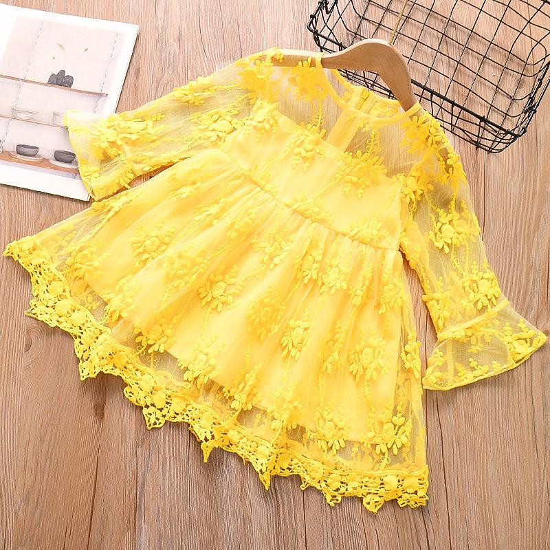 Wholesale Childrens Pyjamas Lace Dress for Toddler Girl
