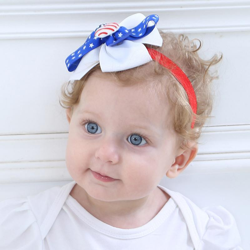 Independence Day Bow Headband