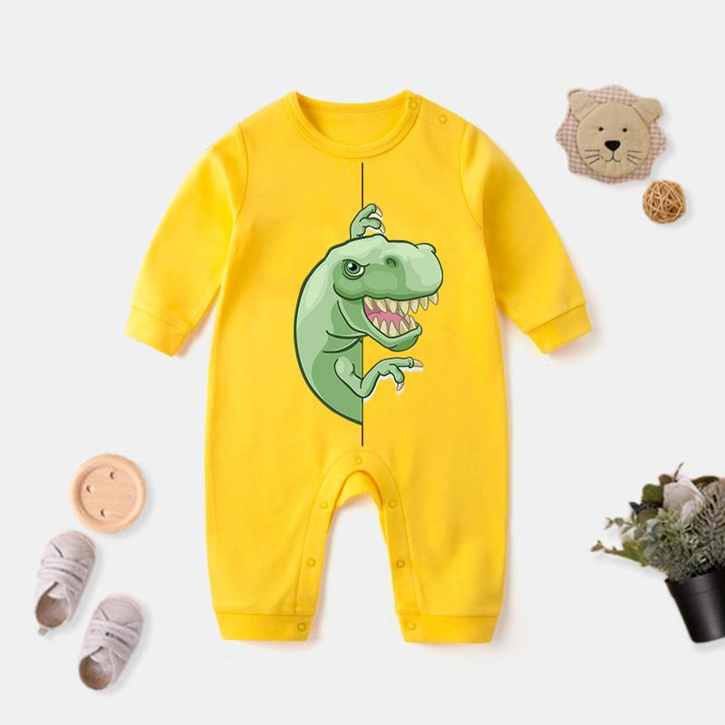 Dinosaur Pattern Jumpsuit for Baby Wholesale children's clothing