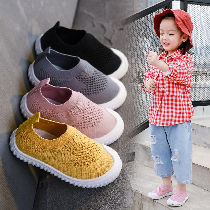Sleeve Breathable Sport Shoes for Children Boy