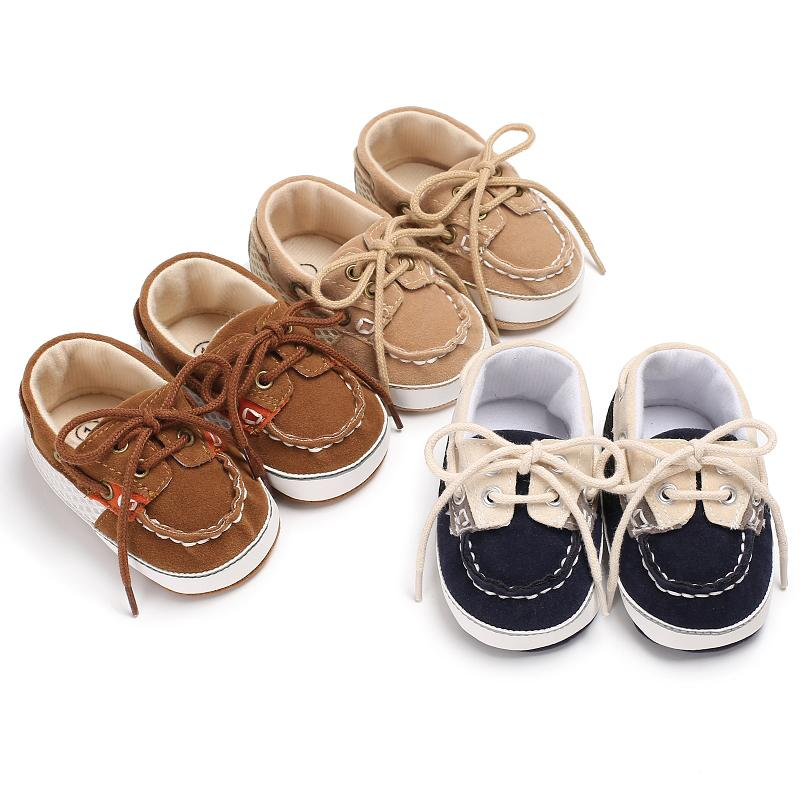 Wholesale Toddler Boutique Clothing Lace-up Baby Shoes