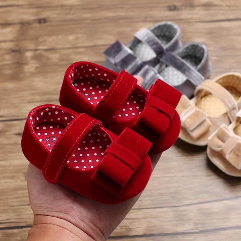 Bowknot Baby Shoes - PrettyKid