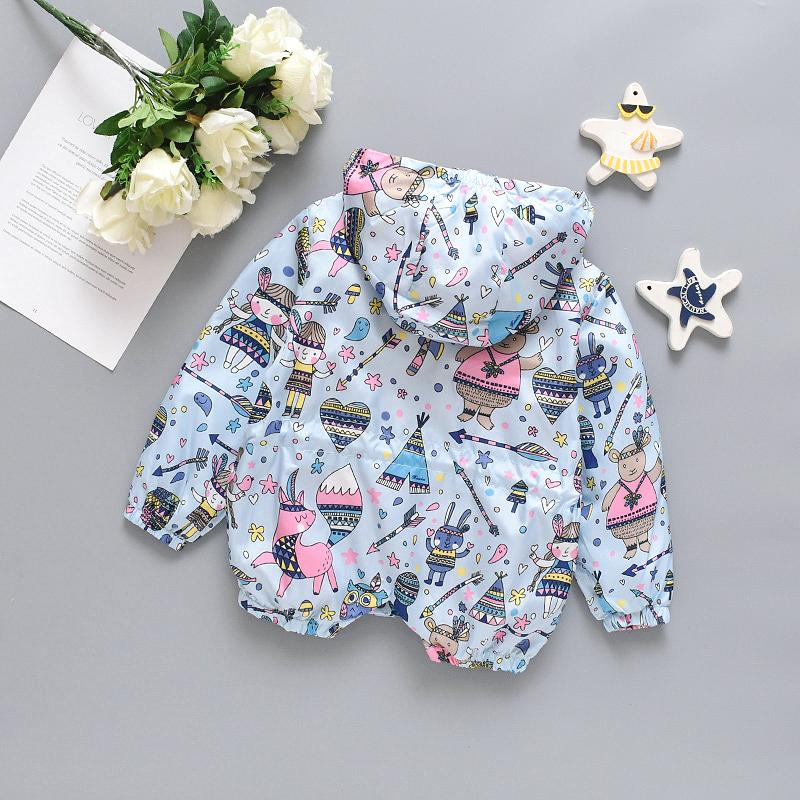 Cartoon Design Jacket for Toddler Girl Wholesale children's clothing