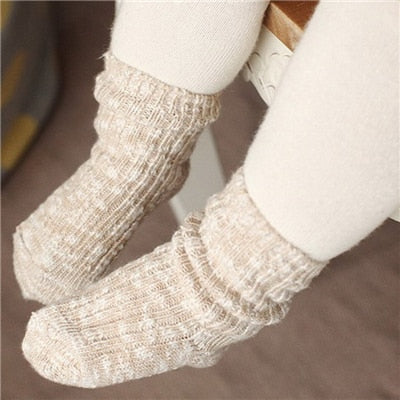 Vintage 0-24 Months Baby Socks Lovely Soft Newborn Toddler Infant Kids Girls Boys  Socks Fashion Wholesale
