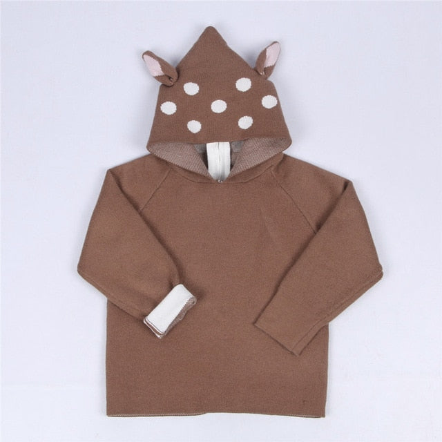 Spring Winter Sweater  Bunny Pullover Factory New Kids Cartoon Sweater