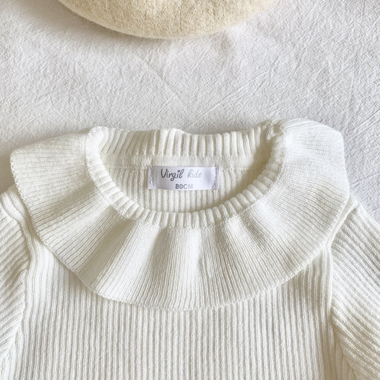2021 trendy Baby Girls Sweater  Kids Basic Sweater  wholesale supplier