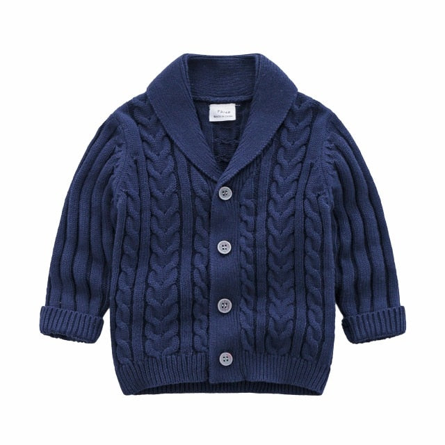 2021 wholesale Baby Boys Knitting sweaters spring winter children's clothing - PrettyKid