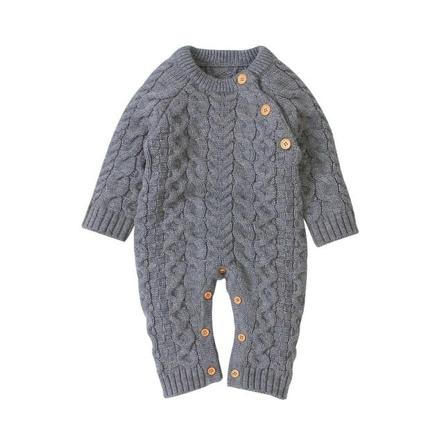 Baby Rompers Long Sleeve Winter spring Kids Boys Girls Jumpsuits Outfits wholesale supplier - PrettyKid