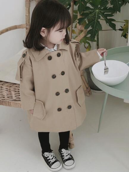 Jackets for Girls Fashion Kids Girl Jacket for Girl Children Jacket Girl Trench Coat Vendor