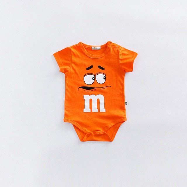 Newborn cute Baby rompers Cotton Infant Body Short Sleeve baby Jumpsuit Cartoon Baby Boy Girl clothes Vendor