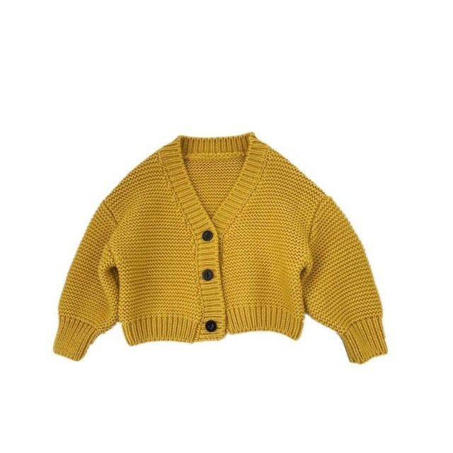 Baby boys and girls cardigan sweater coat sweater kids toddler girl sweater Supplier