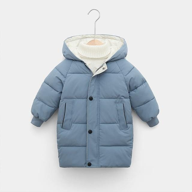Winter Children Boys Jacket Hooded Down Cotton Thick Warm Girls Parka  Kids Baby Coat Manufactuer