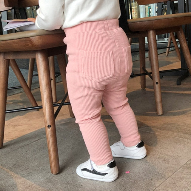 New Baby Girls Boys Leggings Cotton Big Pants Kids Girl Pants Fashion Trousers  Vendor
