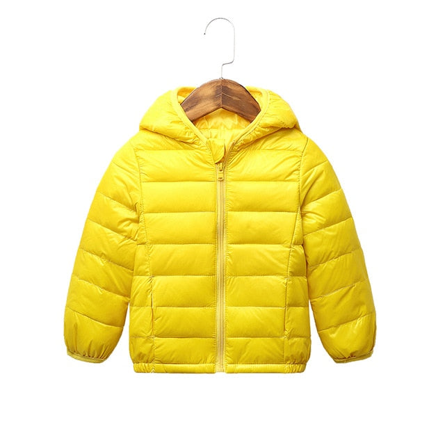 Children winter jacket Baby Girls Jackets Kids Hooded Coat boys snowsuit Children Clothing 2-8 y wholesale