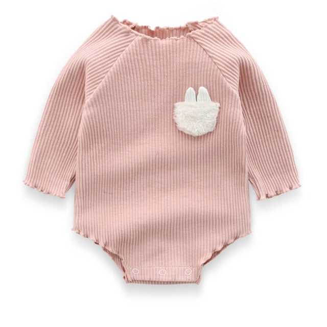 Cute Baby Girls Clothes Spring organic Cotton Long Sleeved knitwear Jumpsuit Sibling Outfits Newborn Clothes Distributor - PrettyKid
