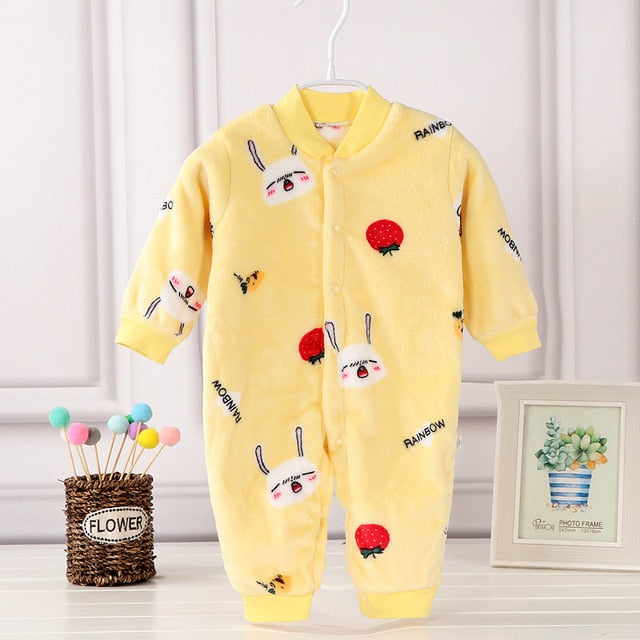 baby clothes Winter Newborn Baby girls clothes Boy girls Romper Baby Boy Girl baby Pajamas wholesale - PrettyKid
