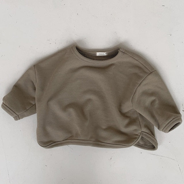 Trendy good quality  baby children's  casual  cashmere sweater T shirt winter Wholesale