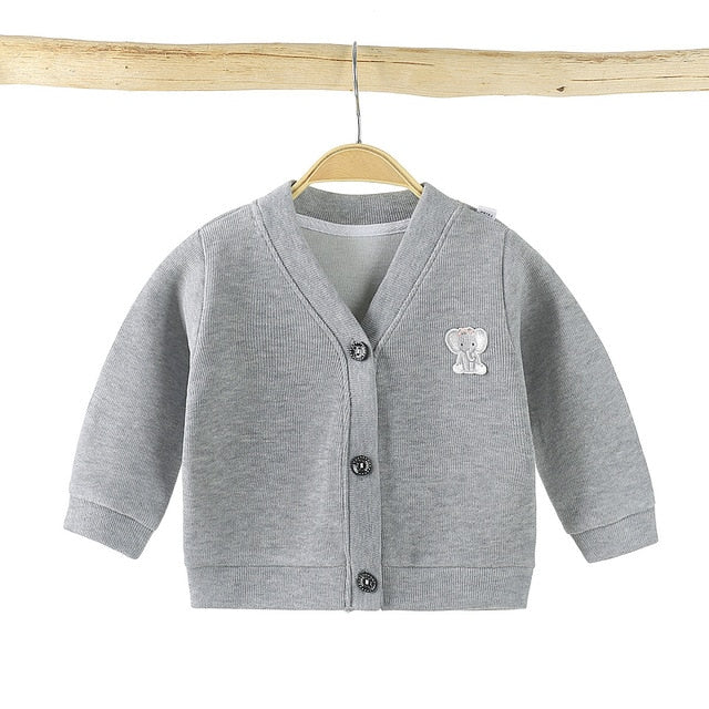 Baby Boys Jacket Children's Jacket Boys Girls Cardigan Winter Baby Jacket Infant Sweater Vendor
