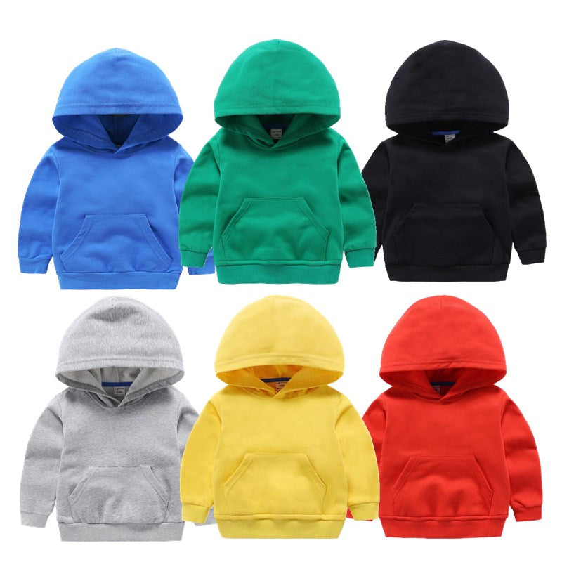 2021 Spring Cute Children's Sweater Cotton Solid Color Clothes Children's Clothing For Baby Boys And Girls Vendor - PrettyKid