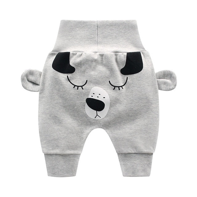 Baby boys girl cartoon children toddler spring newborn infant trousers Supplier