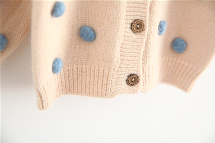 2021 Knitted Baby ClothesCardigan spring Winter Baby Knit Sweater wholesale - PrettyKid