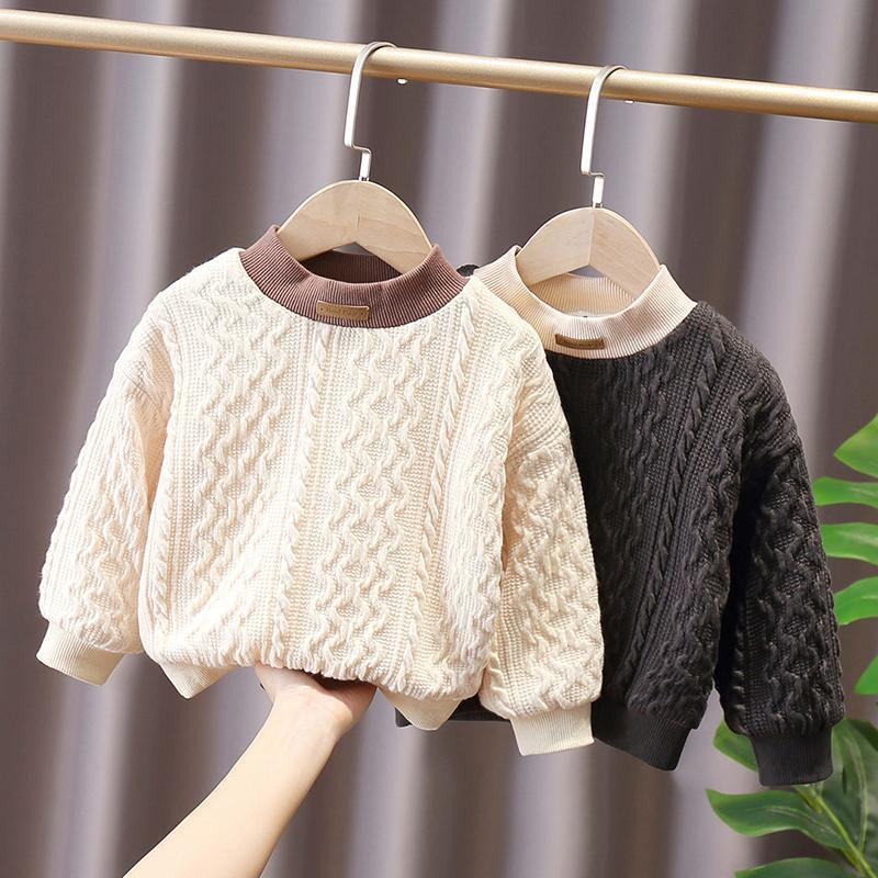 Baby Kids Sweaters 0-5 Years Old Children Clothing Boys and Girls spring Winter Warm wholesale - PrettyKid