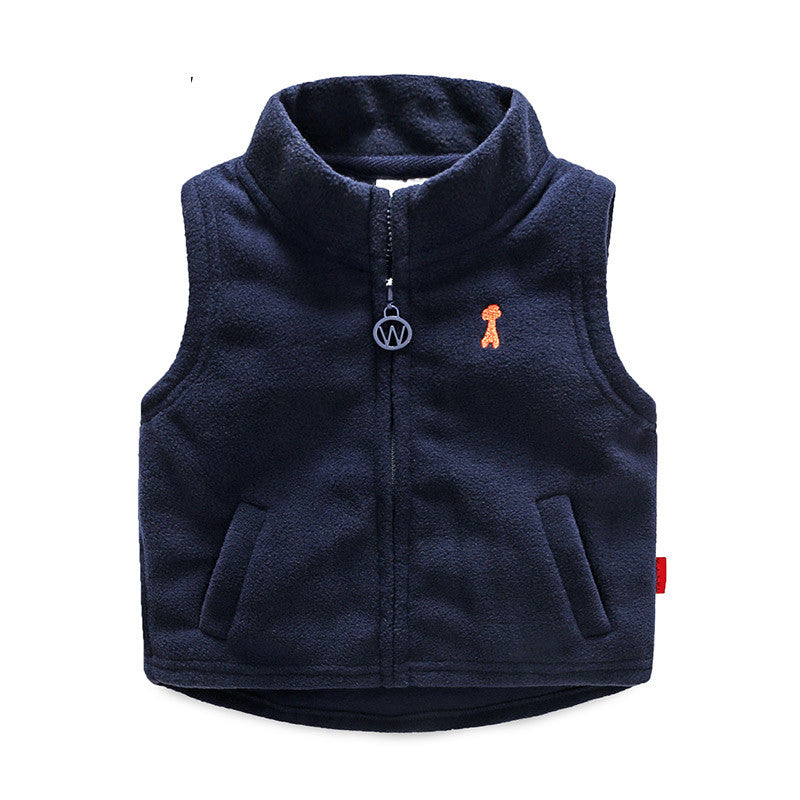 2 3 4 5 6 7 Years Kids Waistcoats Spring Winter Jackets Vest for 2021 Supplier