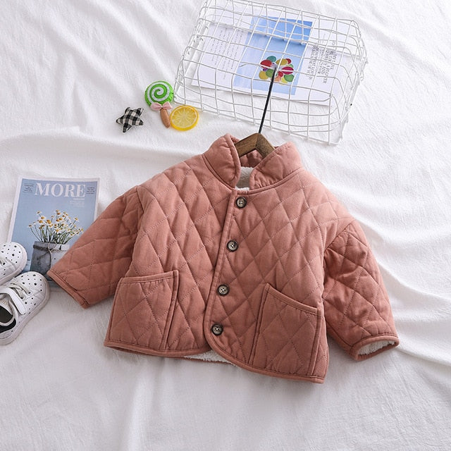 Stylish Winter Jacket Girls Coat Organic Cotton Clothing for Boys Toddler Baby Clothes Outwear Casual Baby Child Coats Wholesale
