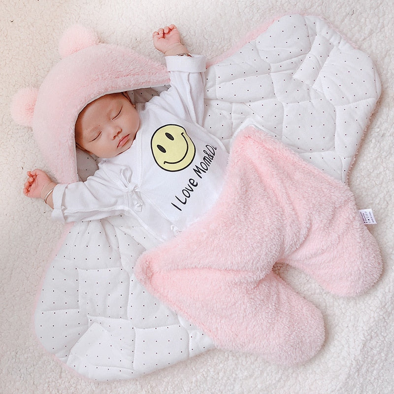 baby blanket swaddle cotton soft newborn baby sleepping bag wholesale imported - PrettyKid