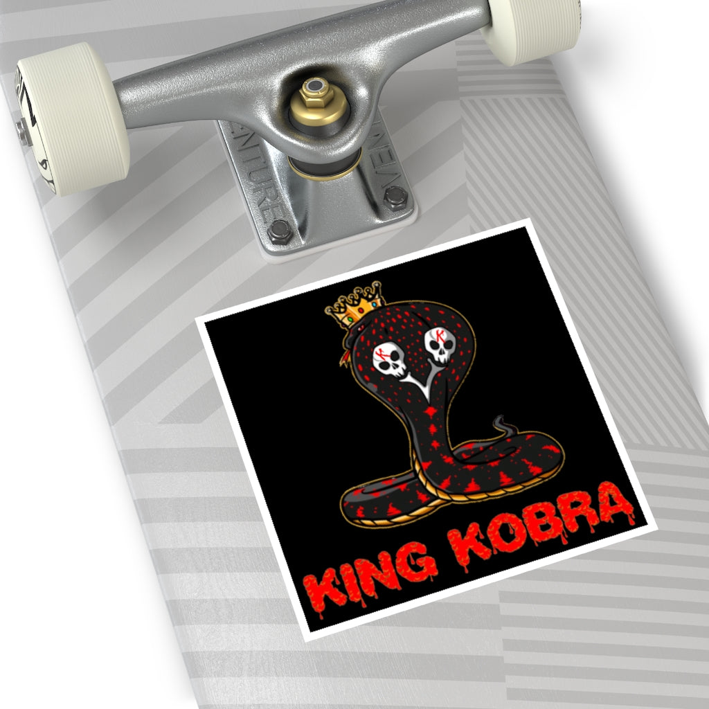 K.K. Square Logo Sticker (EU)