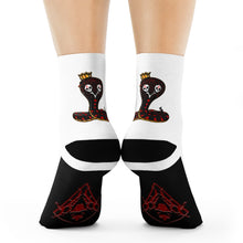 Load image into Gallery viewer, K.K. White Crew Socks