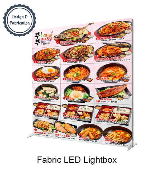 Fabric LED Lightbox