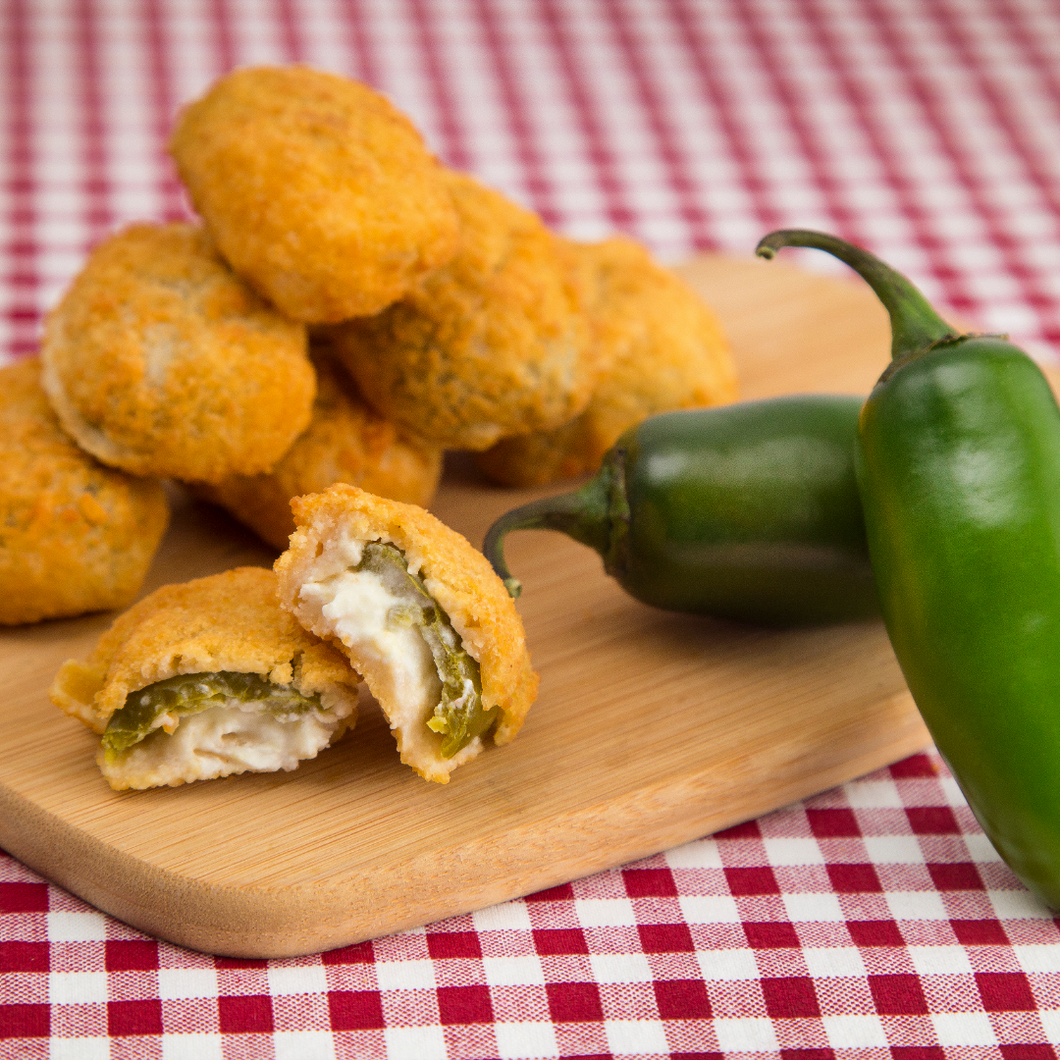 Breaded Jalapeno Cheddar Poppers (3 lbs)