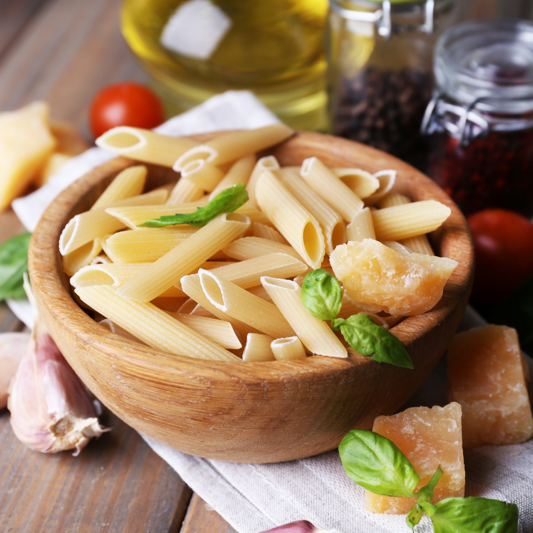 Pasta Penne Rigate Imported (10 lbs)