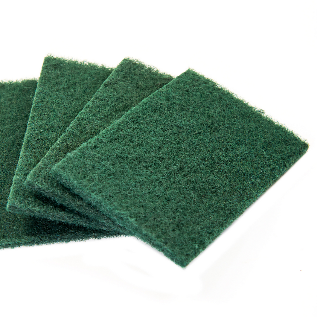 Scouring Pads Green Medium (10 ct)