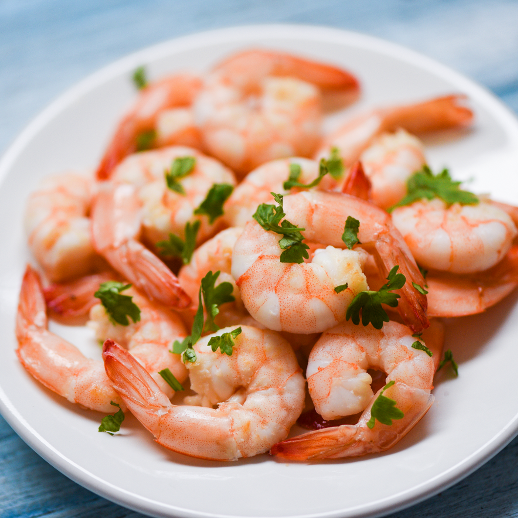 Shrimp Raw White P&D TOF 21/25 ct  (2 lbs)
