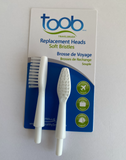 WestJet Travel Toothbrush Replacement Heads
