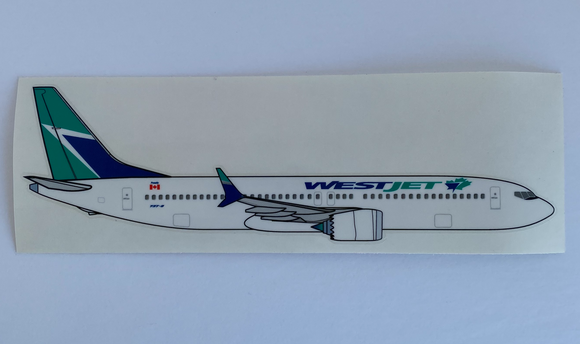 WestJet Sticker MAX-8