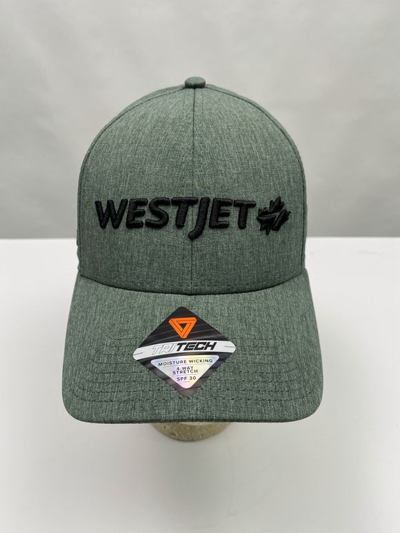 WestJet Logo Ball Cap - Green/Black