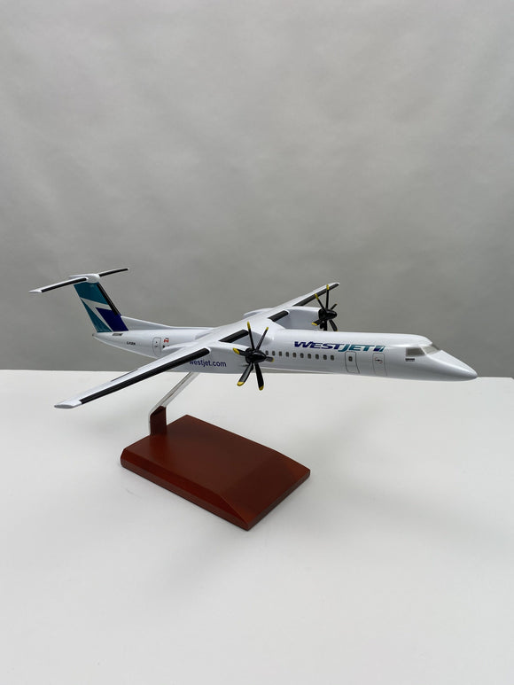WestJet Q400 Model Airplane - 1:72
