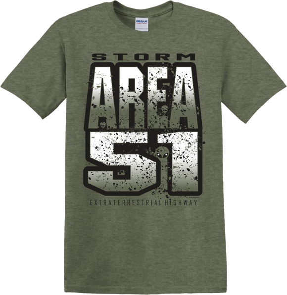 Storm Area 51 Military Green Tee