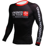Hardcore Training Vikings On Tour Rash Guard Men's