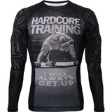 Hardcore Training Rash Guard Long Sleeve Die Hard Men's