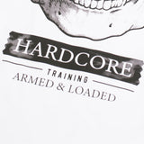Hardcore Training Fear Zone Black White T-Shirt Men's