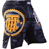 Hardcore Training Night Camo Fight Shorts Men's