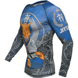 Jitsu Zen Cat Rash Guard Men's