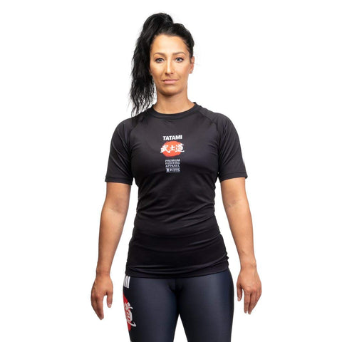 Tatami FightwearShort Sleeve Rash Guard Women Bushido