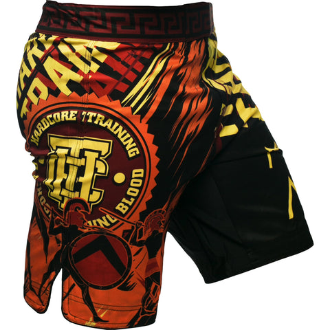 Hardcore Training Sparta Black Fight Shorts Men's