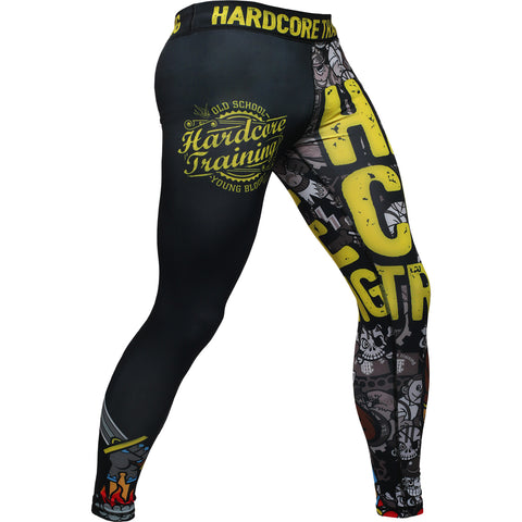 Hardcore Training Doodles Compression Pants Men's