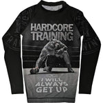 Hardcore Training Kids Rash Guard Ground Shark Die Hard